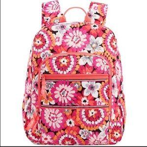 Vera Bradley Campus Backpack Flowers